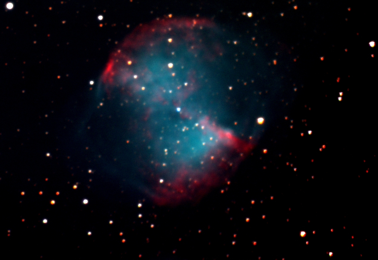 (M27) Dumbbell Nebula